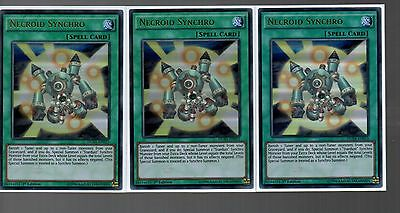 DUSA-EN015-1ST EDITION YU-GI-OH CARD ULTRA RARE NECROID SYNCHRO