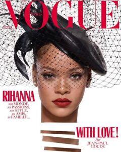 Image is loading VOGUE-Magazine-Paris-December-2017-January-2018-RIHANNA- ef29e3fb0