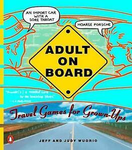 Adult-On-Board-Travel-Games-For-Grown-Ups-Wuorio-Judy-Wuorio-Jeff-New-Book