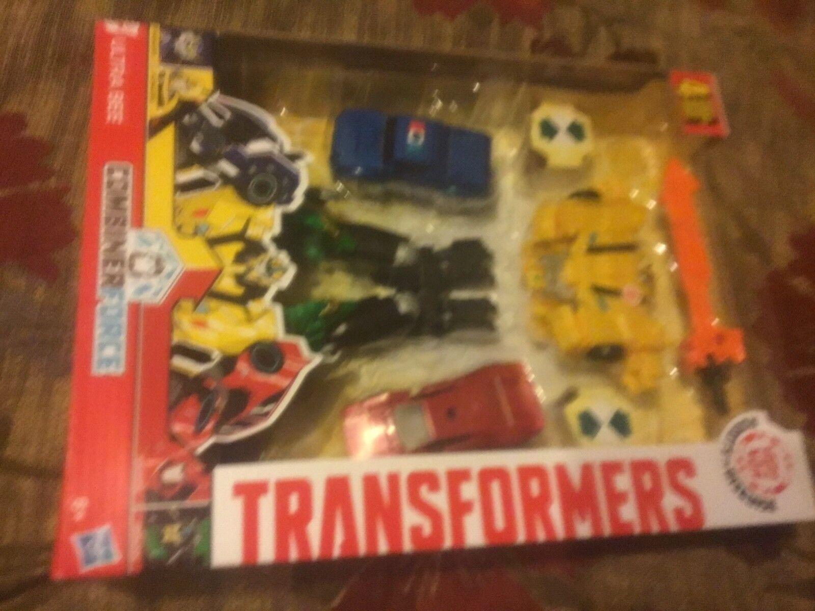 Transformers Robots in Disguise Combiner Force Team combiner Ultra bee Hasbro