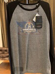 NWT-John-Varvatos-Star-USA-AEROSMITH-LS-T-Shirt-XXL-Ltd-Edition-Rock-Collection