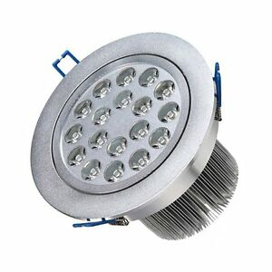 CREE-15W-LED-Ceiling-Recessed-Lamp-Downlight-Warm-White-Scheinwerfer-Lampe-NEU