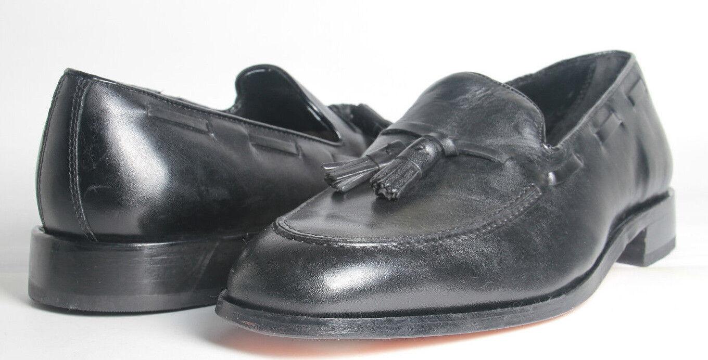 scegli il tuo preferito Mens scarpe FLORSHEIM Lowell Tassel Loafers Loafers Loafers nero All Leather Classic 11.5D  350  i nuovi stili più caldi