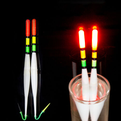 1XFishing Luminous Float Battery Operated LED Float Dark Water Night Fishing HK