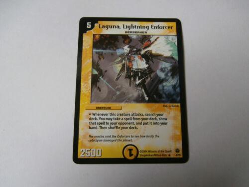 Lightning Enforcer Rare !!! Carte Duel Masters Laguna