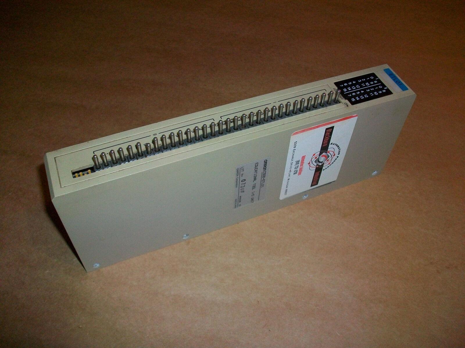 Omron PLC Edutcational Tool I O Unit  C500-ETL01      USED