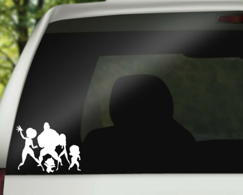 Incredibles Disney Decal Sticker for Car Wall or Laptop