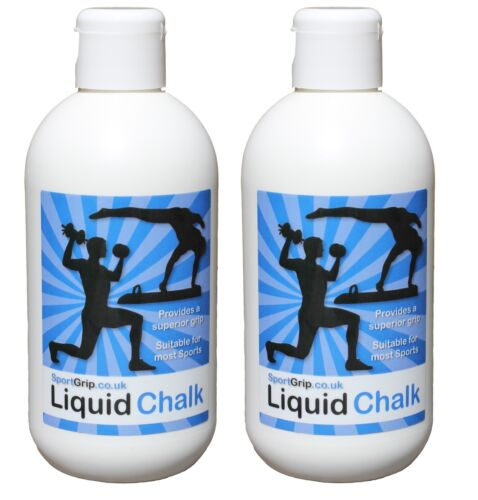 2 x Liquid Chalk Gymnastics, Weight Lifting, Climbing, Racquet Sports & more