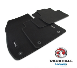 Genuine-Vauxhall-Zafira-C-Tourer-Tailored-Velour-Carpet-Mat-Set-UKCVA017-2012