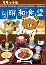 Re-Ment Sanrio Rilakkuma - Showa Shokudou All 8 types Full Set from Japan F/S