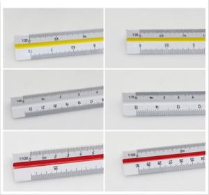 Buro Schreibwaren 30cm Lineal Massstab Scale Ruler Dreieck Zeichnen