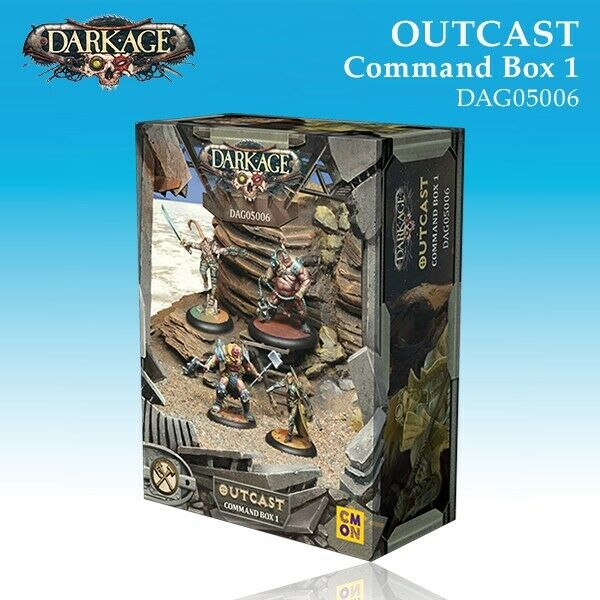 Dark Age  Outcast Command Box A - DAG05006