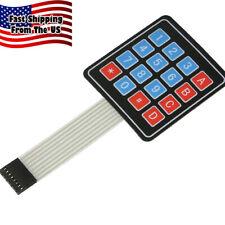 16 Button X Y Peel N Stick Keypad For Arduino 31046 Sw