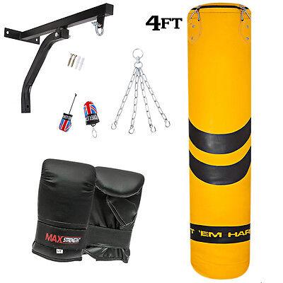 R A X Heavy Duty 4 Hole Ceiling Punch Bag Bracket MMA Boxing Bags