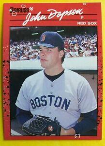 1990 NO Dot INC Period JOHN DOPSON Donruss 2 ERRORS MINT Baseball Card #162 RARE