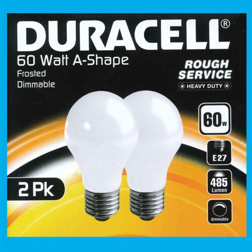 12x 60W à Variation Perle Givré GLS Incandescent Ampoule Es E27 Vis Lampes