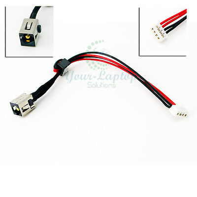 DC Power Jack cable wire for Toshiba Satellite C655-S5212 C655-S5221 C655-S5225