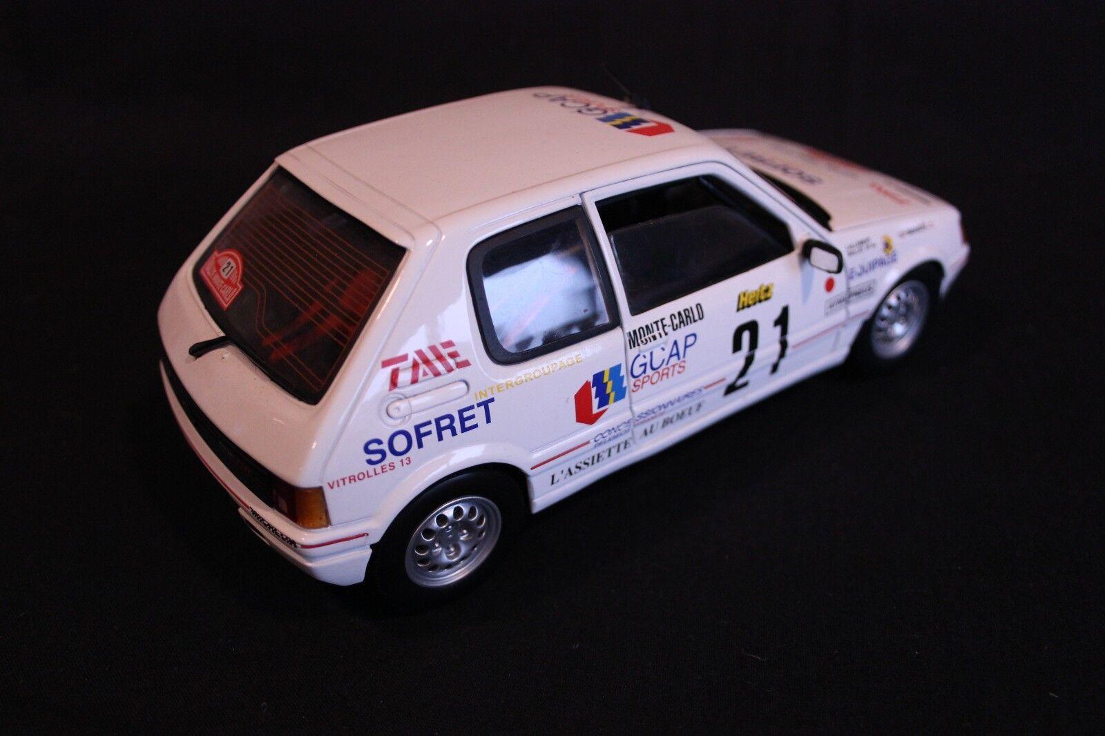 Solido Peugeot 205GTi 205GTi 205GTi 1988 1 18 Ballet   Lallement Rallye Monte-Carlo (AK) e8faa4