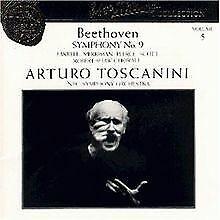 Sinfonie 9 von Toscanini,Arturo, Nso   CD   Zustand sehr gut