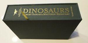 Rare Robert Sabuda Matthew Reinhart Dinosaurs Limited Signed New #158/260