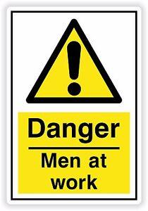 1 X Danger Hommes Au Travail Sticker Ddrx4ynm-08004215-449185868