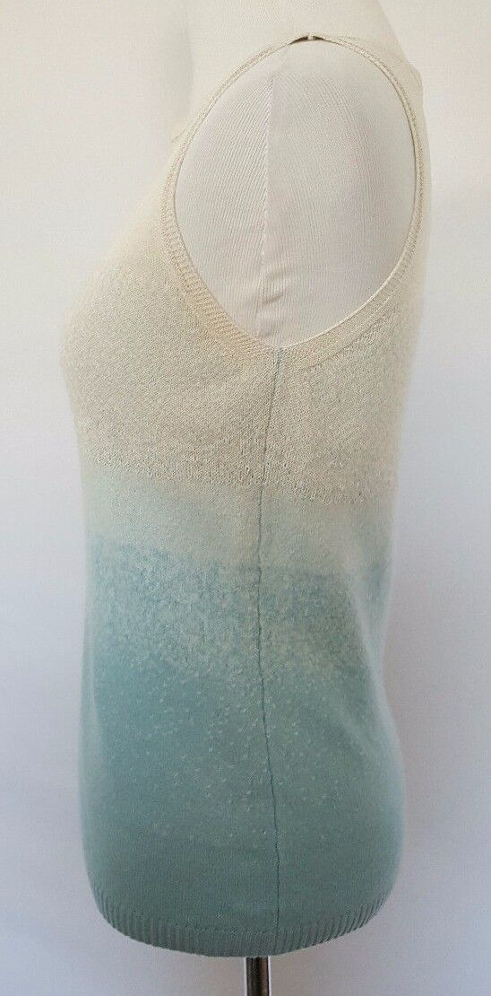 Women's Women's Women's ESCADA Ombre Wool Blend Sleeveless Sweater Size 34   Size Small b37a59