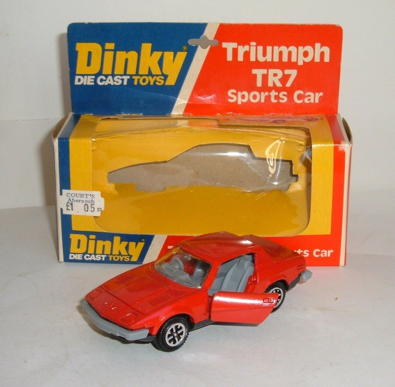 Dinky Spielzeugs No. 211, Triumph TR7 Sport voiture, - Superb