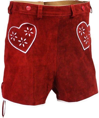 Pantaloni pelle stile portanti pelle Pantaloni in rosso in country OR6IUq
