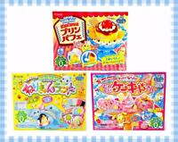 Kracie Popin' Cookin' Gummy Candy Making Kit Diy Small Boxes Variety Usa Seller