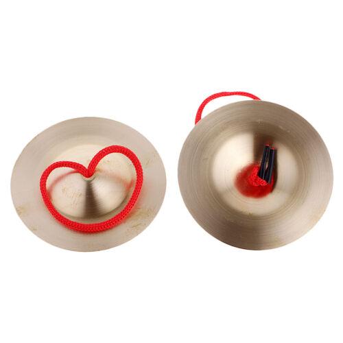 Cymbal Zimbeln Becekn Handbecken Baby Rhythmus Percussion Spielzeug