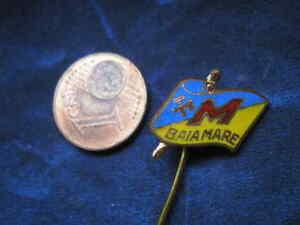 Baia Mare Rumänisch Anstecknadeln * Bergbauwesen Bergbau Pflichtbewusst