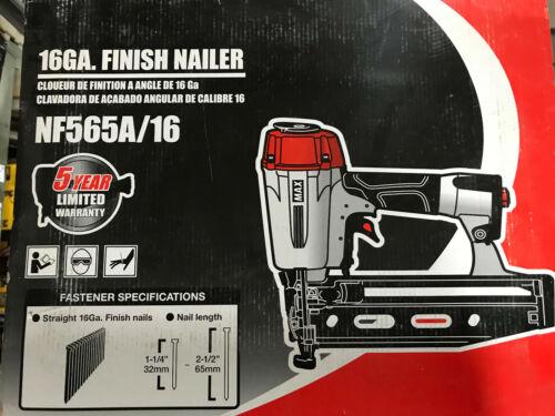 NEW MAX NF565A//16 FINISH NAILER