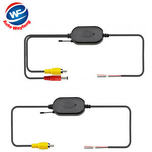2-4G-Wireless-RCA-Video-Receiver-amp-Transmitter-for-Car-Rear-View-Camera-Monitor
