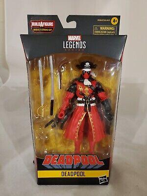 "Marvel Legends BAF Strong Guy Series Deadpool 6/"" Figure Deadpool Pirate"