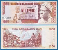 Guinea Bissau 1000 Pesos P 13 b 1993 UNC  Low Shipping! Combine FREE! (P-13b)