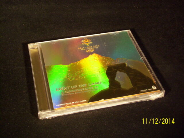 Light Up the Land - A commemorative CD  of the 2002 Winter Games - OVP