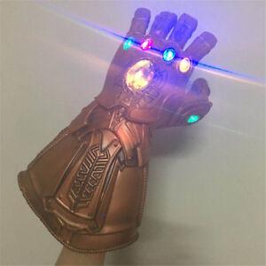 Avengers-Infinity-War-Gauntlet-Glove-LED-Light-Thanos-Latex-Gloves-Cosplay-Prop