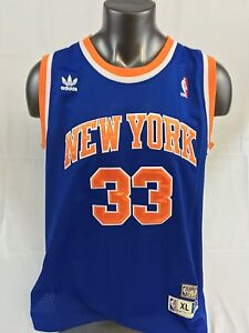 c5c4d40ede7 PATRICK EWING NEW YORK KNICKS RETRO AUTHENTIC ADIDAS JERSEY ADULT XL ...