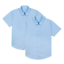 BOYS SCHOOL SHIRTS 2 PACK SHORT SLEEVE EX UK STORE UNIFORM 4-16Y NEW
