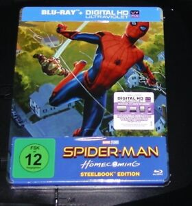 Spider Man Homecoming Limitata Esclusivo Pop Art steelbook blu ray Nuovo & Ovp