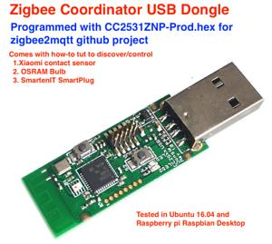 Details about CC2531 Zigbee Coordinator for Raspberry, Linux(RaspBee  alternative)
