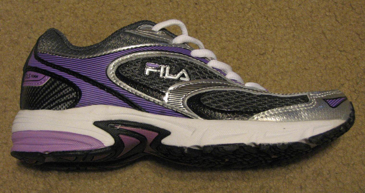 Women's FILA 6 DLS Artifice running shoes sneaker purple white black  Brand discount