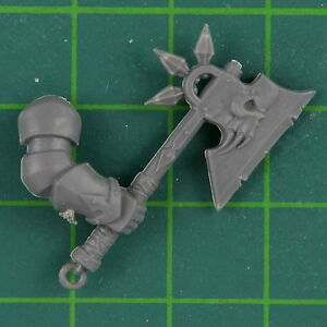 Esclaves To Darkness Chaos Chevaliers Axe Warhammer Fantaisie Bitz 8530