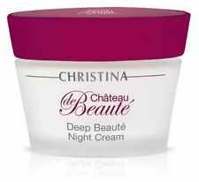 CHRISTINA Chateau de Beaute Deep Beaute Night Cream 50ml + samples