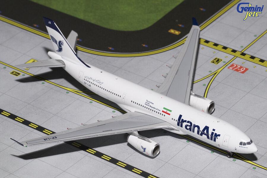 GEMINI JETS IRAN AIR A330-200 NEW LIVERY 1 400 DIE-CAST MODEL EP-IJA GJIRA1652