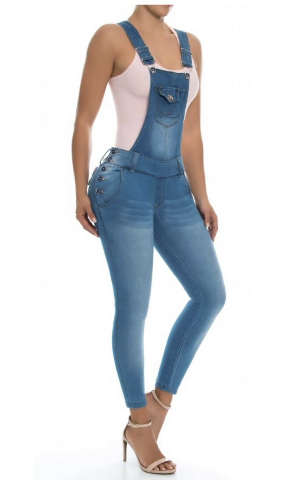 56a6c306314 Stretchy Colombian Enterizos Jumpsuits New Collection Size Available 1