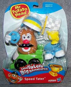 MR. POTATO HEAD 2012 LITTLE TATERS SPEED TATER SET AGES 2+