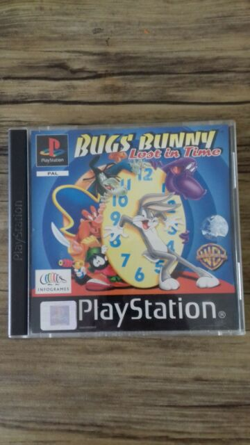 BUGS Bunny: LOST in Time (Sony PlayStation 1, 1999) - versione Europea