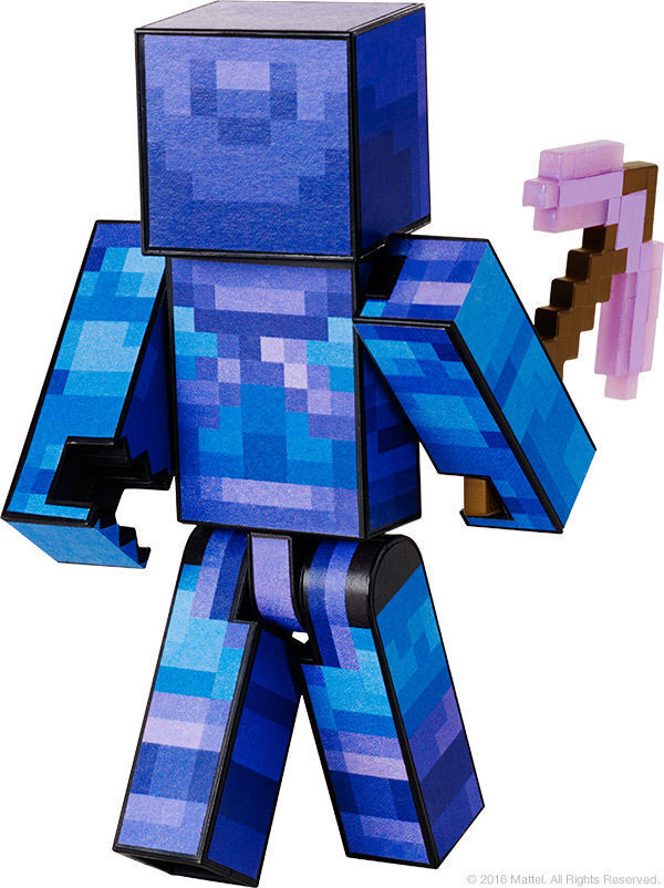 SDCC SDCC SDCC 2016 Mattel Minecraft Survival Mode Player 1 Exclusive SDCC Skeletor skin   7e32e1