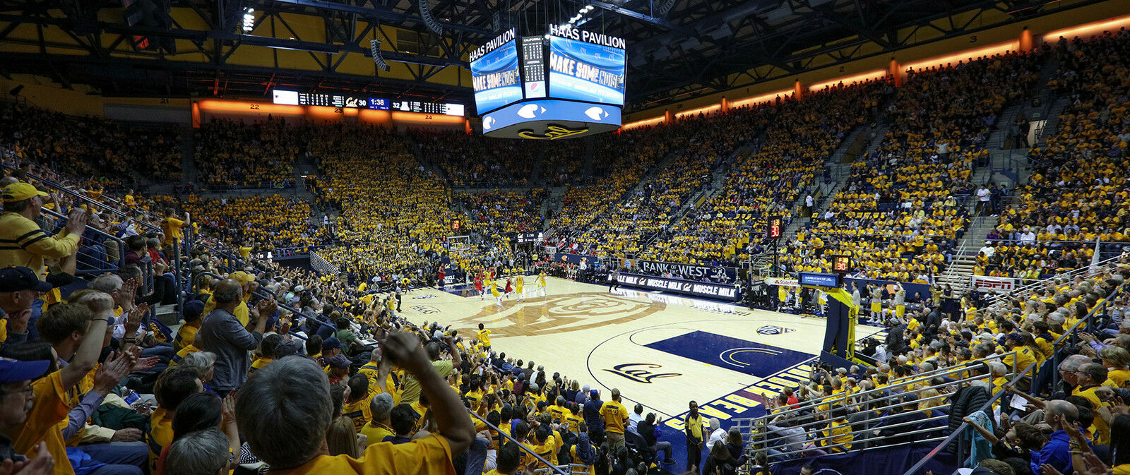 Santa Clara Broncos at Cal Bears Basketball